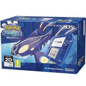 Nintendo 2DS (blauw) + Pokemon Alpha Sapphire voor €128,69 @ Zavvi