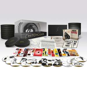 Hitchcock: The Ultimate Filmmaker Collection  (16 Blu-ray boxset) voor €64,99 @ Zavvi