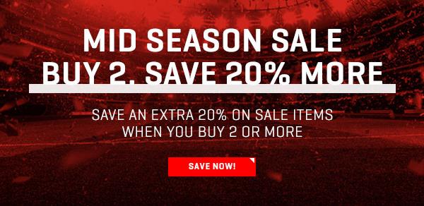 20% EXTRA korting op de sale (bij aankoop van min 2 items) @ Puma