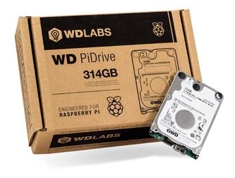 Update: WD PiDrive 314GB voor Raspberry Pi €27,42 incl. verzending