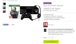 Xbox One 500GB + The Witcher 3: Wild Hunt + Halo: The Masterchief Collection voor €299 @ MS Oostenrijk