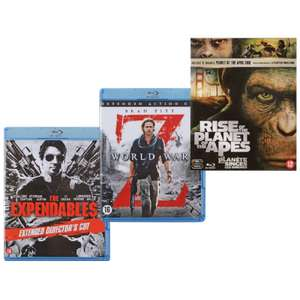 Diverse Blu-ray titels voor € 3,99 @ Action