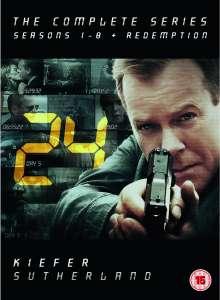 24 - Seizoen 1-8 en Redemption (DVD) voor € 38,99 @ Zavvi