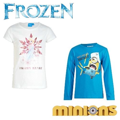 Striphelden fashion & meer met korting (oa Frozen / Minions) @ Kiabi