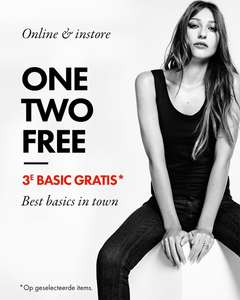 3e Basic gratis - dames & heren - @ We Fashion