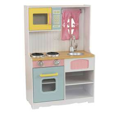 Kidcraft Pastelkleurig Country speelkeuken voor €21 @ Coolblue