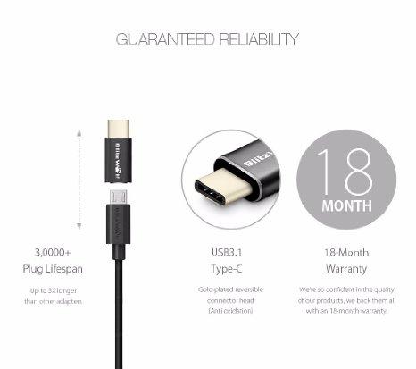 BlitzWolf USB Type-C naar Micro USB Adapter Type C Male voor €2.24 @ Banggood