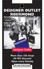10% korting bij Roermond Outlet Shopping Centre