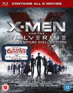 X-Men en The Wolverine Adamantium Collection (Blu-ray) voor €25,99 @ Zavvi