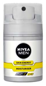 Gratis mini Nivea Men Skin Energy Q10!