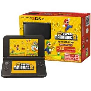 Nintendo 3DS XL + New Super Mario Bros. 2 voor €139 @ Redcoon