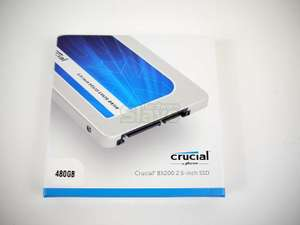 Crucial BX200 SSD 480GB voor €96,99 @ Amazon.fr