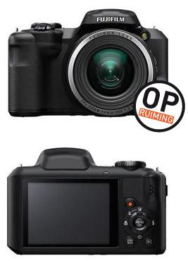 Fujifilm FinePix S8600, rood, wit of zwart voor € 89 @ Kamera-Express