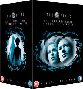 The X Files seizoen 1 - 9 + films (DVD) voor €57,19 @ Zavvi