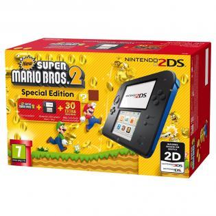 Nintendo 2DS + New Super Mario Bros 2 voor €82 @ Redcoon
