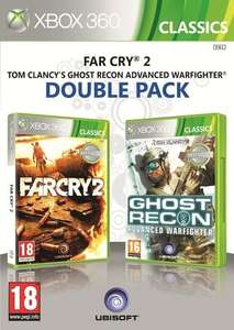 Far Cry 2 + Ghost Recon (Xbox 360) voor €2 @ Dixons