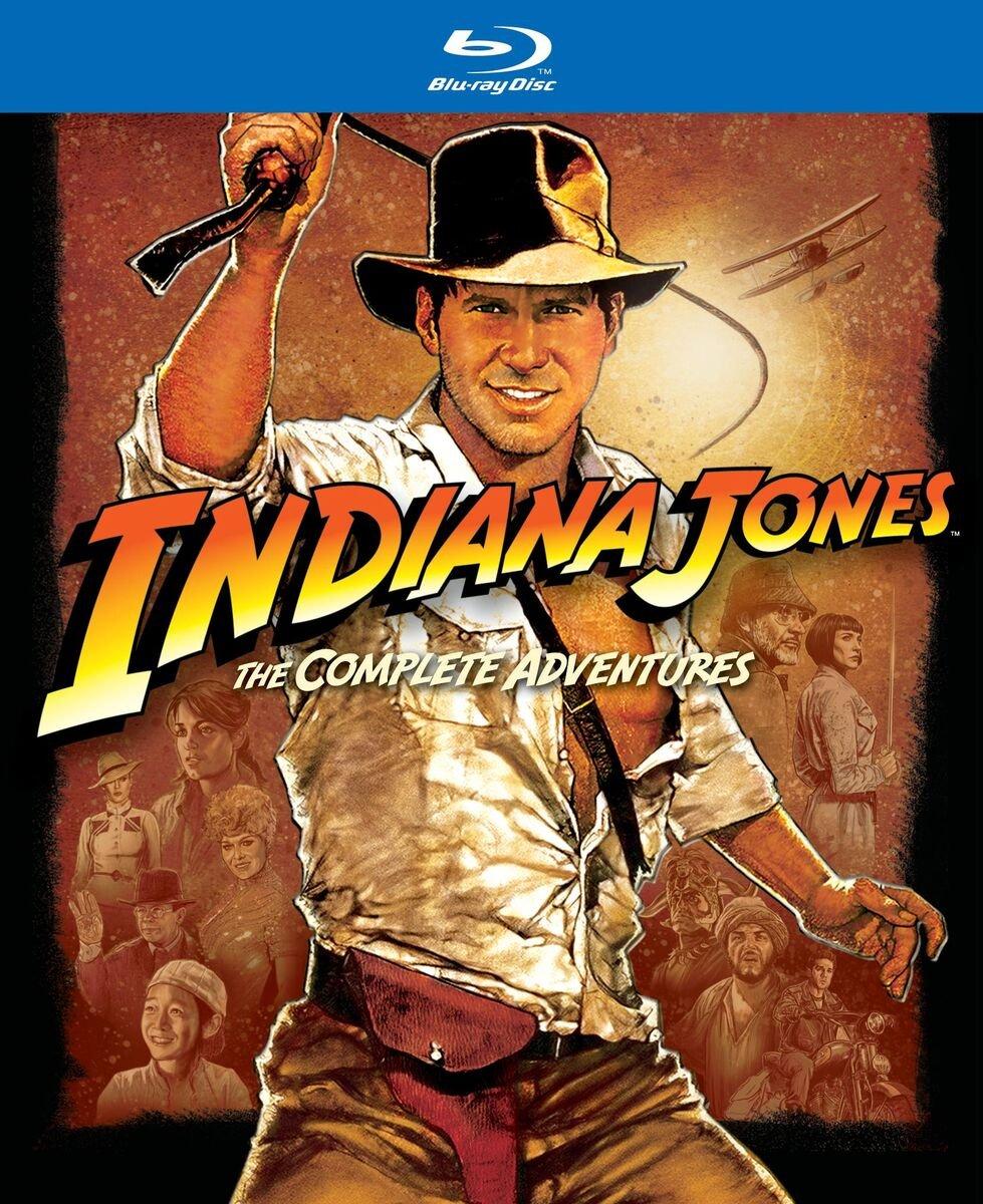 Indiana Jones - The Complete Adventures (Blu-ray) €14,99 @ JPC.de
