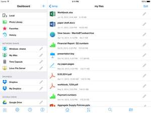 Remote File Manager voor IOS * GRATIS *