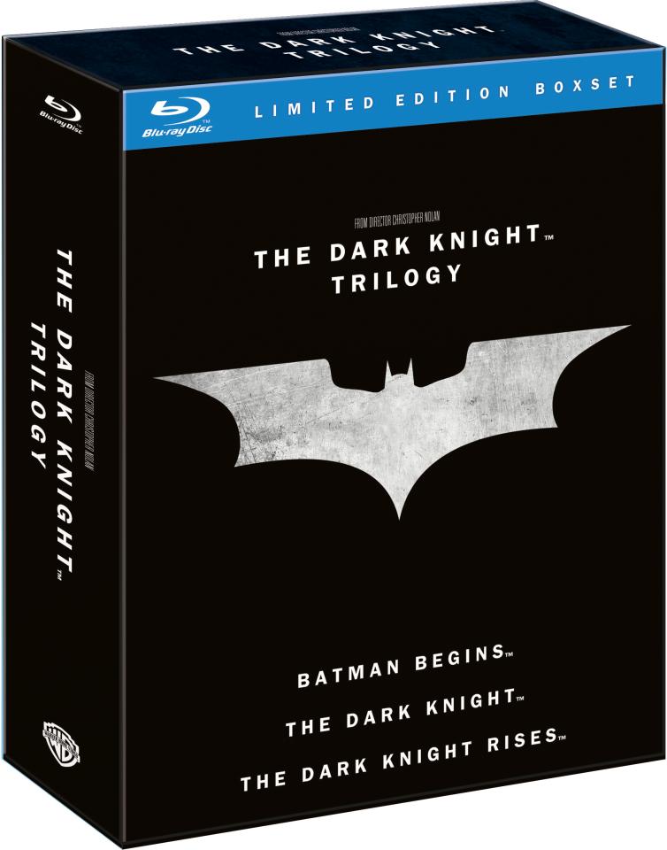The Dark Knight trilogie boxset (Blu-ray) voor €19,49 @ Zavvi
