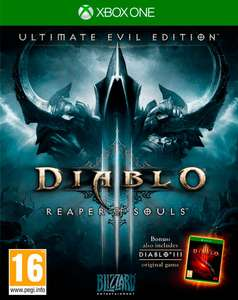 Diablo III: Reaper of Souls – Ultimate Evil Edition (Xbox One) (download) voor €32 @ Xbox Store India