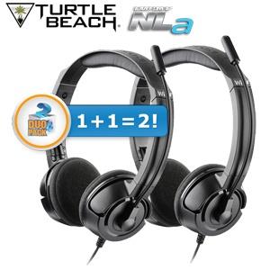 2 Turtle Beach EarForce NLa gaming headsets voor €25,90 @ iBOOD