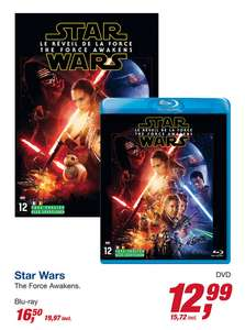 Star Wars Episode 7: The Force Awakens (Blu-ray) voor €19,97 @ Makro