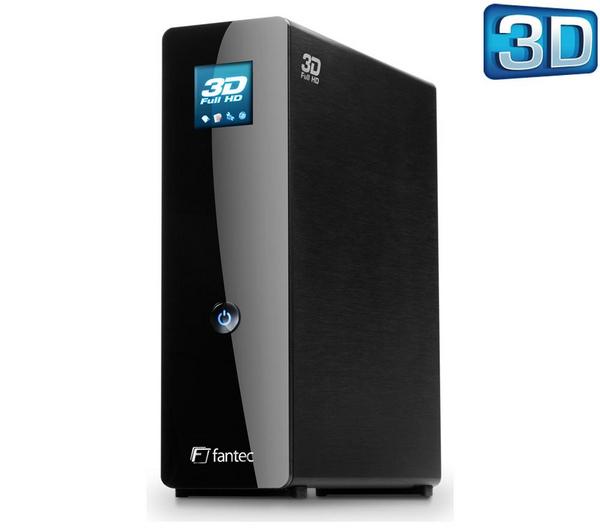 Fantec 3DFHDL 2TB Mediaspeler voor € 264,99 @ Pixmania