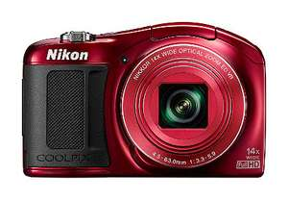Nikon Coolpix L620 (Rood) voor € 106,95 @ OTTO