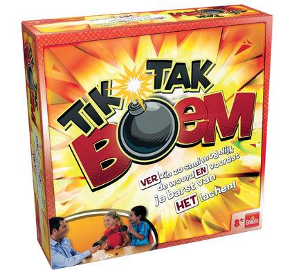 Tik Tak Boem gezelschapsspel voor €14,99 @ Coolblue