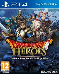 Dragon Quest Heroes: The World Tree's Woe and the Blight Below (Day One Edition) PS4 voor €22,99 @ Yourgamezone