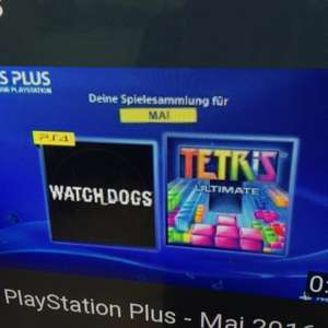 Watch_Dogs en Tetris (PS4) gratis in Mei @ PlayStation Plus