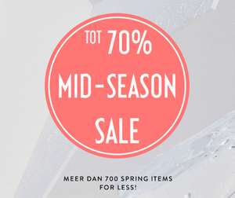 Mid Season SALE + gratis verzending met code @ Costes (va €19,95)