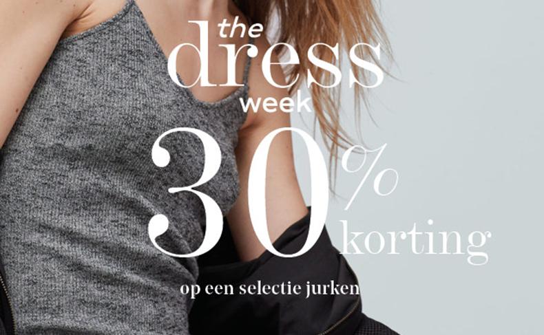 30% korting op selectie jurken @ Mango
