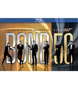 James Bond - 50th Anniversary Collection (Blu-ray) voor € 89,99 @ V en D