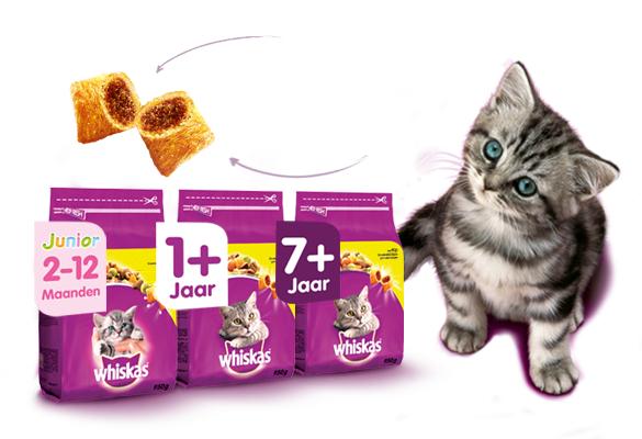 Gratis Kittenpakket @ Whiskas
