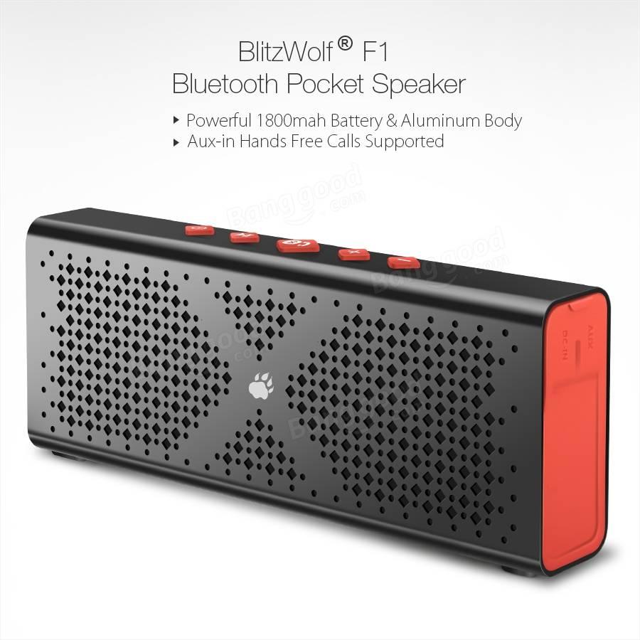 BlitzWolf F1 Bluetoothspeaker @ Banggood