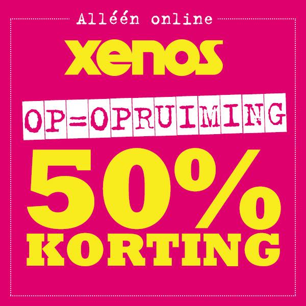 50% korting op de opruiming @ Xenos