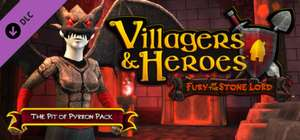 Gratis Villagers and Heroes: The Pit of Pyrron Pack  DLC (Steam) @ Failmid