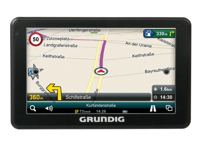 Grundig M5 navigatiesysteem voor €55 @ Media Markt