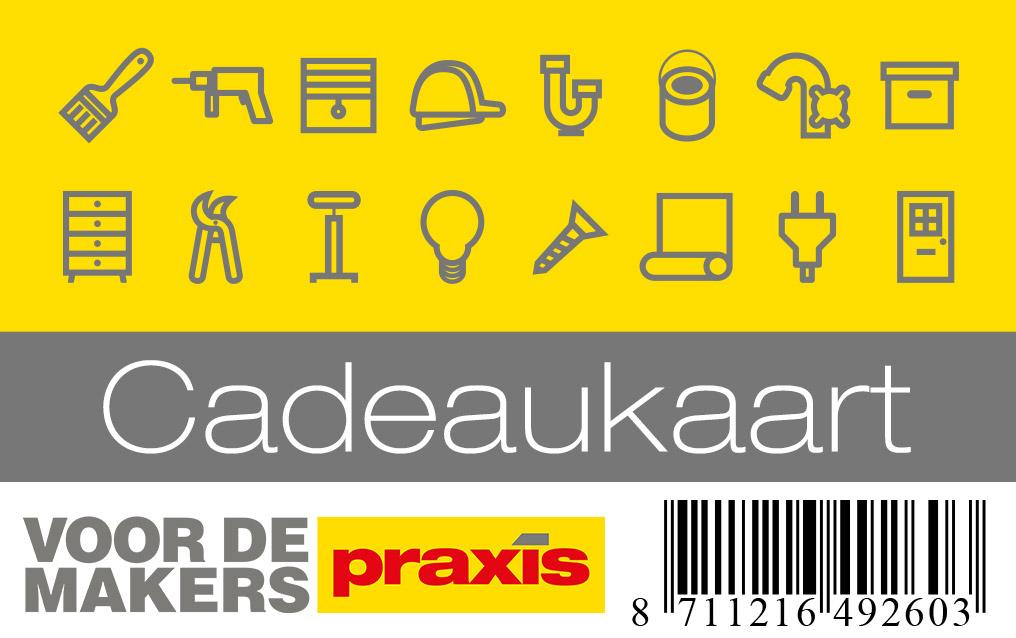 €5 Voucher (min. besteding €25) @ Praxis