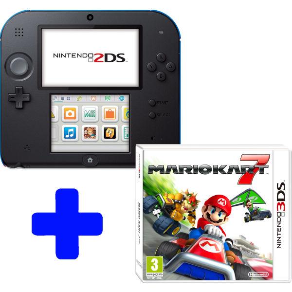 Nintendo 2DS + Mario Kart 7 voor €114 @ Media Markt