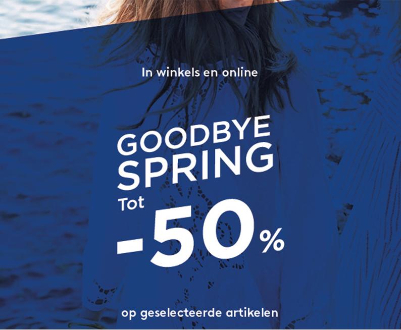 Spring sale - tot 50% korting @ Mango