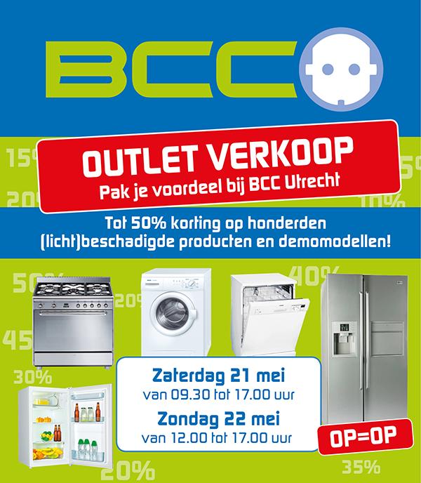Outletverkoop bij BCC Utrecht tot 50% korting