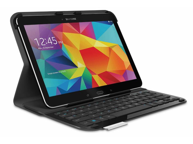 Logitech Ultrathin Keyboard Folio Galaxy Tab 4 voor €9,99 @ Media Markt