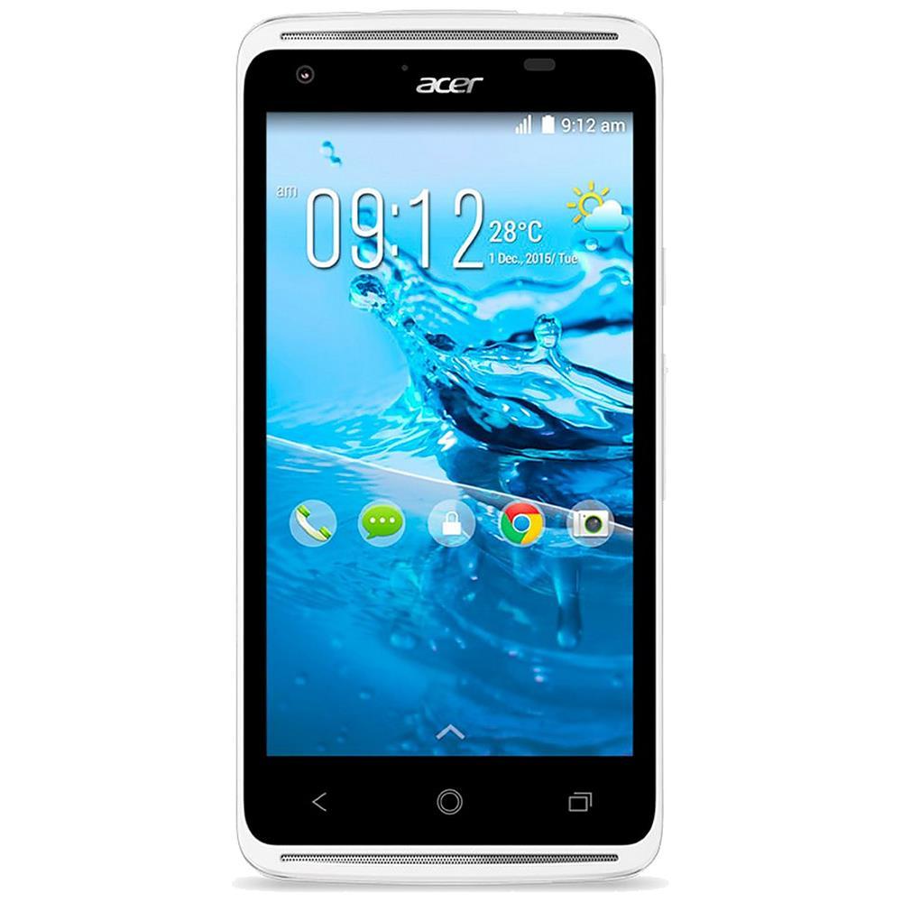 Acer smartphone Z410 (wit) + Lebara prepaid