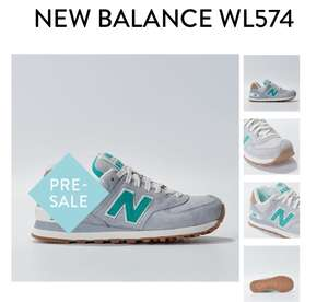 New Balance 574 Grey afgeprijsd @ Men At Work