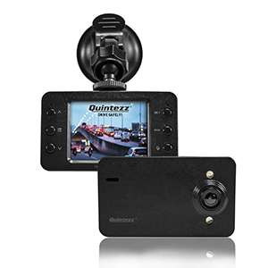 Quintezz Dashboardcamera HD720P voor €17.99 @ Big Bazar