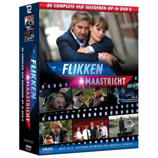 Flikken Maastricht seizoen 1 t/m 5 (DVD) voor €14,95 @ Neckermann