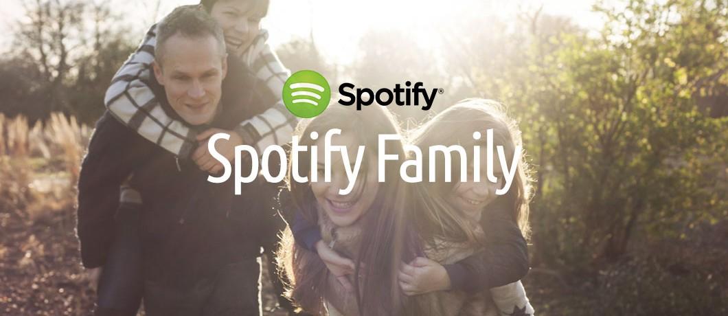 Spotify family nu €14,99 voor 6 personen