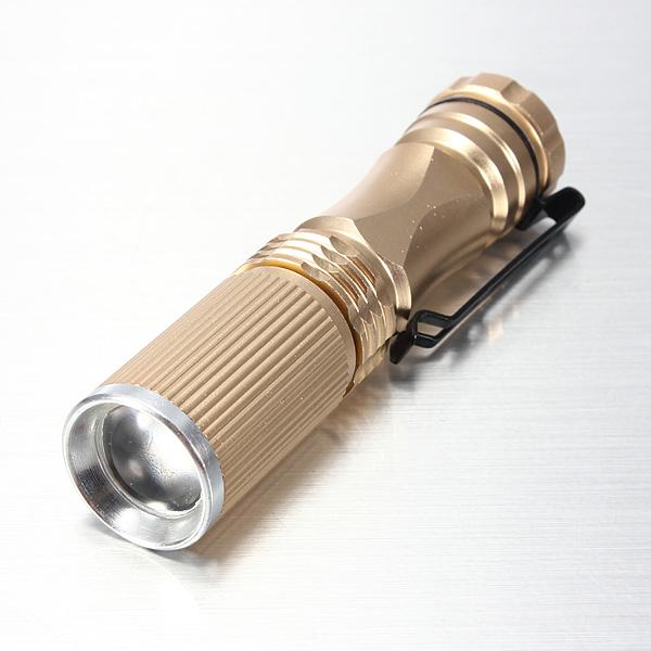 Meco CREE XPE-Q5 600 Lumen LED Flashlight voor €1,81 @ Banggood